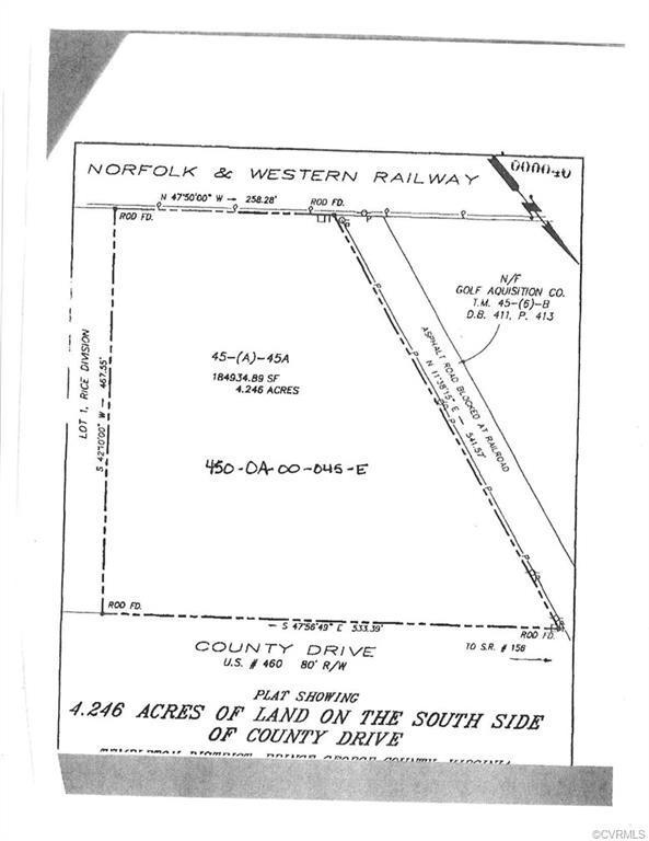 4.2456 acres County County Drive, Disputanta, VA 23842 (#1905384) :: Abbitt Realty Co.