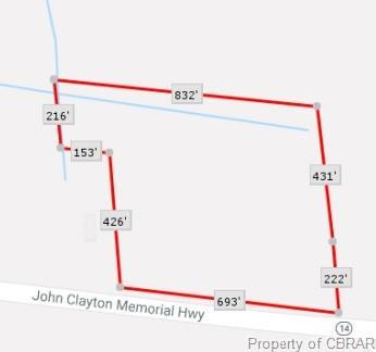 0 John Clayton Memorial Highway, Mathews, VA 23109 (MLS #1907892) :: Chantel Ray Real Estate
