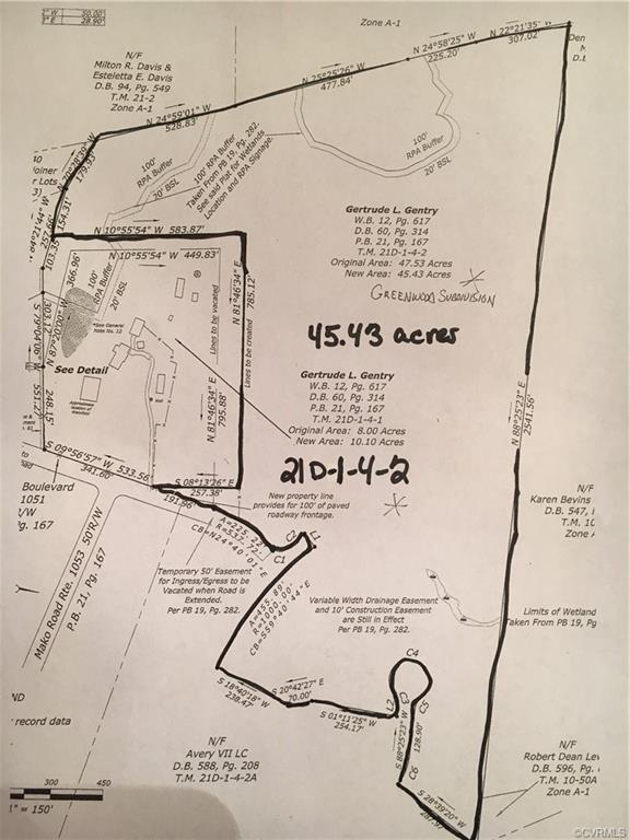00 Greenwood Boulevard, New Kent, VA 23124 (MLS #1911108) :: The RVA Group Realty