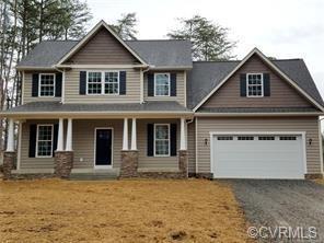 134 New Providence Drive, Ruther Glen, VA 22546 (#1912561) :: Abbitt Realty Co.