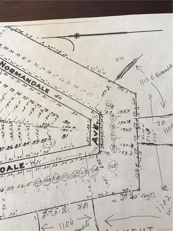 1109 Normandale Avenue, Petersburg, VA 23803 (#1915599) :: Abbitt Realty Co.