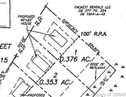Lot 1 Wallace Drive, Warsaw, VA 22572 (MLS #1918876) :: Small & Associates
