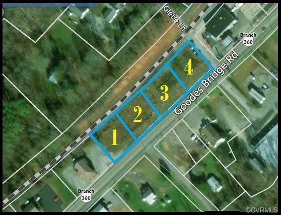 Parcels 1&2 Goodes Bridge Road, Amelia Courthouse, VA 23002 (#1921959) :: Abbitt Realty Co.