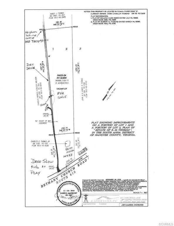 00 Bethany Church Road, Montpelier, VA 23192 (MLS #2031732) :: Treehouse Realty VA