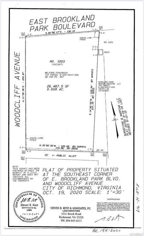 1203 E Brookland Park Boulevard, Richmond, VA 23222 (MLS #2033247) :: The Redux Group