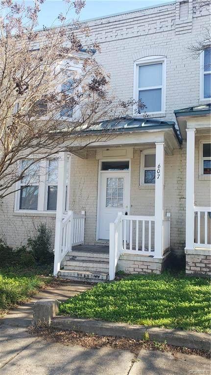 607 S Adams Street, Petersburg, VA 23803 (MLS #2035446) :: The Redux Group