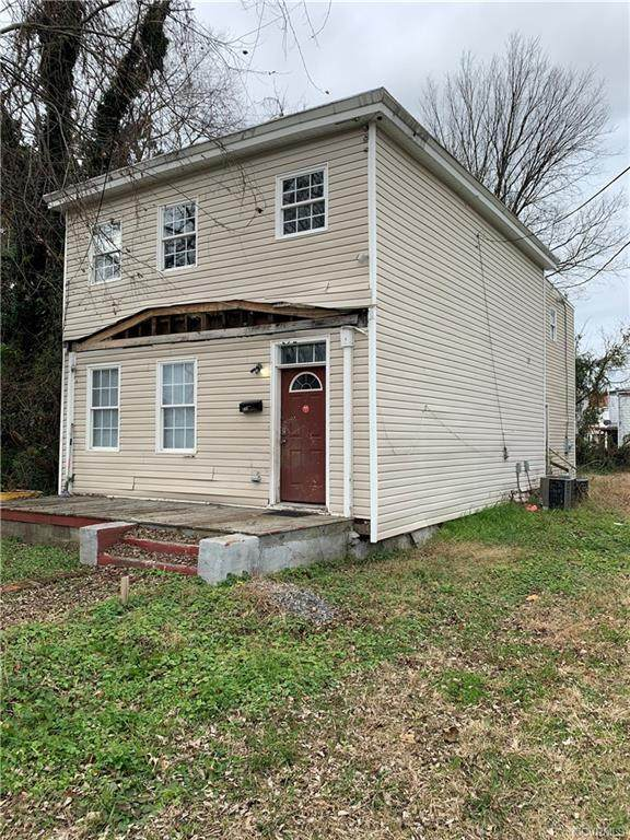 1021 Upper Appomattox Street, Petersburg, VA 23803 (MLS #2036104) :: Treehouse Realty VA
