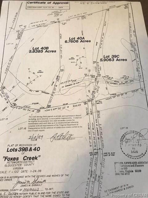 000 Foxes Creek Drive, Gloucester, VA 23061 (MLS #2102316) :: Small & Associates