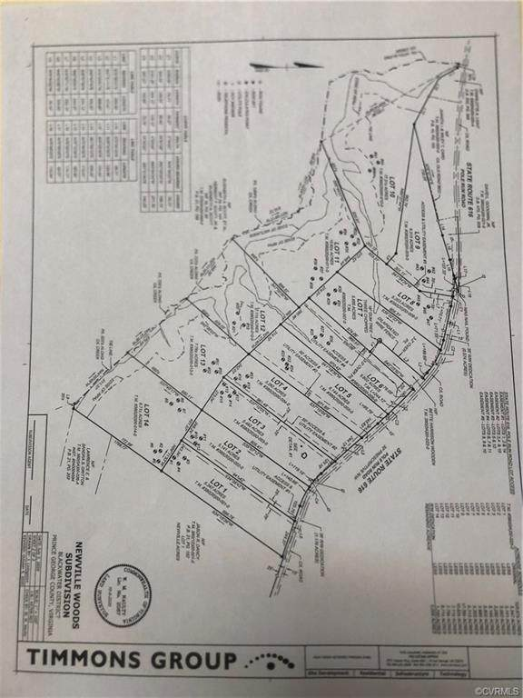 Lot 2 Pole Run Rd, Prince George, VA 23842 (MLS #2104721) :: The Redux Group