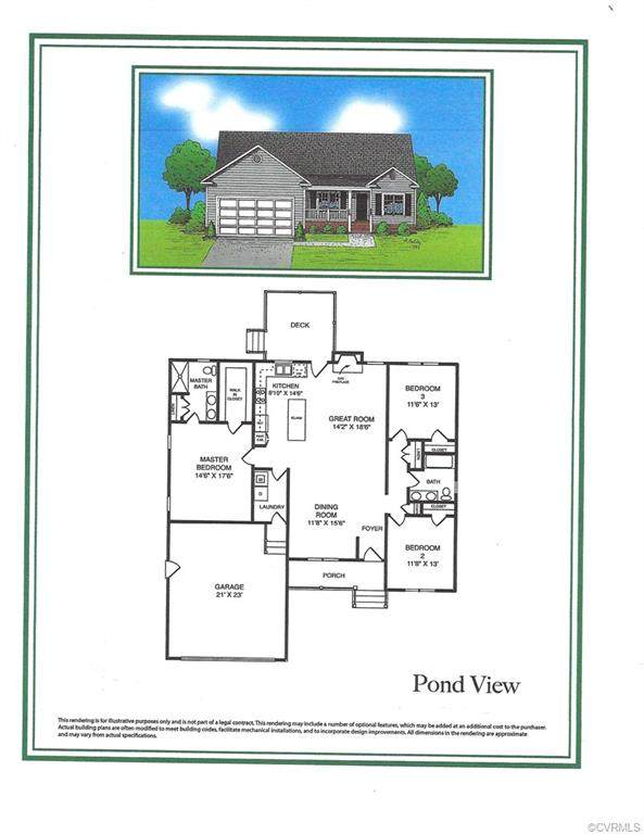 8085 Castle Grove Drive, Mechanicsville, VA 23111 (#2105298) :: Abbitt Realty Co.