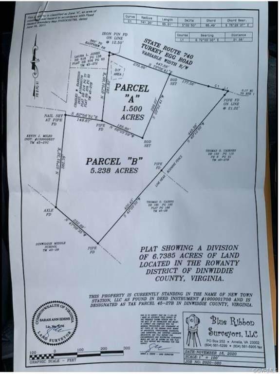 19705 Turkey Egg Road, Dinwiddie, VA 23841 (MLS #2105858) :: Village Concepts Realty Group