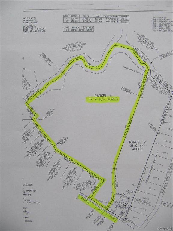 37.9 Acres Charles City Road, Henrico, VA 23231 (MLS #2109233) :: Village Concepts Realty Group