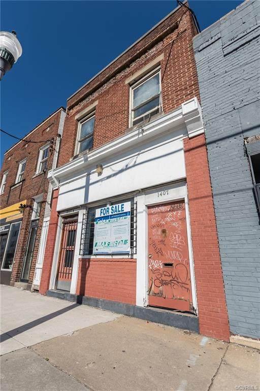 1407 Hull Street, Richmond, VA 23224 (MLS #2112168) :: The Redux Group