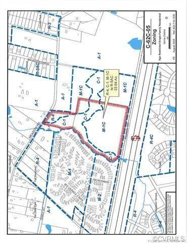 1925 Meadow Road, Sandston, VA 23150 (MLS #2113820) :: Village Concepts Realty Group