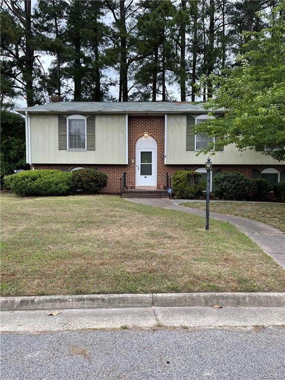 231 Greenwood Drive, Petersburg, VA 23805 (MLS #2116146) :: Treehouse Realty VA
