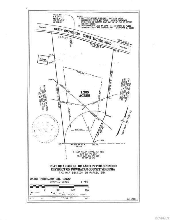 0 Three Bridge, Powhatan, VA 23139 (MLS #2116864) :: EXIT First Realty