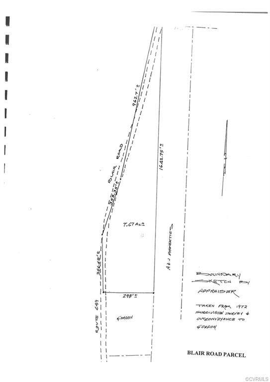 0 Blair Road, Goochland, VA 23238 (MLS #2117245) :: The RVA Group Realty