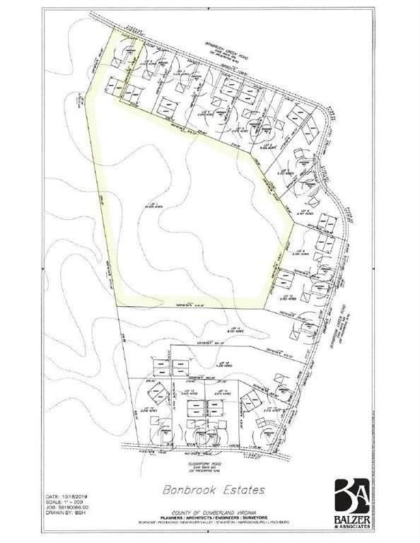 00 Sugar Fork And Bonbrook Creek Road, Cumberland, VA 23040 (MLS #2130570) :: Village Concepts Realty Group