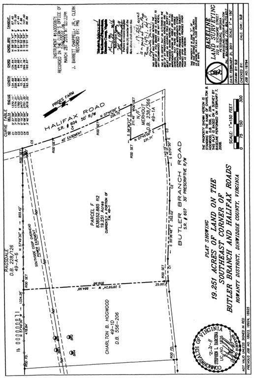 19.25 Halifax And Butler Branch, Dinwiddie, VA 23805 (MLS #2131572) :: Village Concepts Realty Group