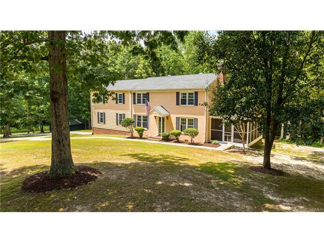 1996 Hunters Trail Court, Goochland, VA 23063 (MLS #1727704) :: The RVA Group Realty