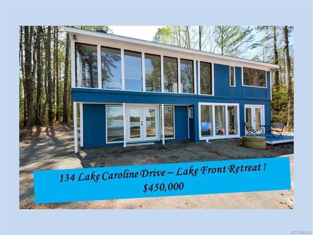 134 Lake Caroline Drive, Ruther Glen, VA 22546 (#1813881) :: Abbitt Realty Co.