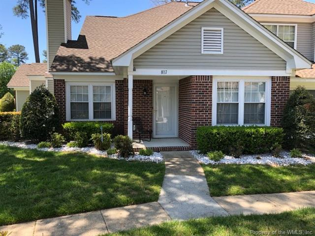 817 Brassie Way #817, Newport News, VA 23602 (MLS #1814940) :: RE/MAX Action Real Estate