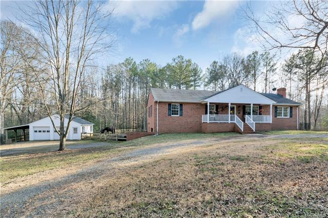 1945 Covington Road, Crozier, VA 23039 (MLS #1816384) :: The Ryan Sanford Team