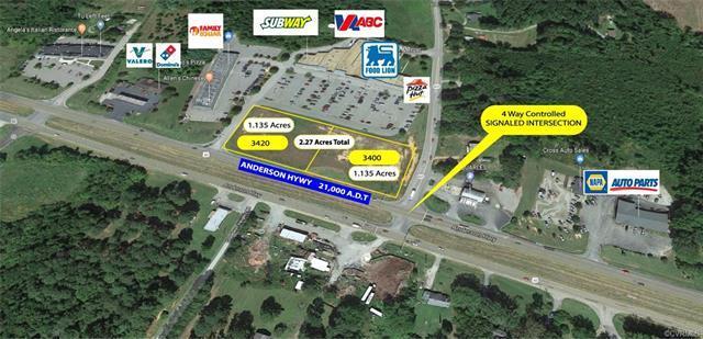 3400 Anderson Highway, Powhatan, VA 23139 (MLS #1825968) :: The Ryan Sanford Team