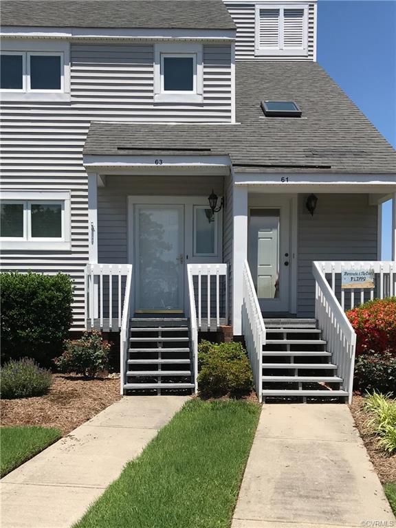 63 Island Drive #40, Urbanna, VA 23175 (MLS #1900634) :: RE/MAX Action Real Estate