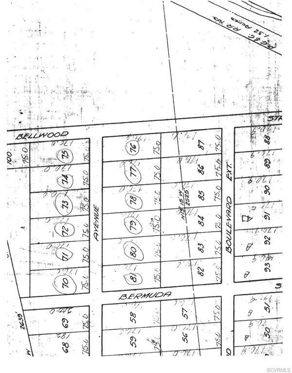 8930 & 8801 Balland Street, North Chesterfield, VA 23237 (MLS #1923300) :: Small & Associates