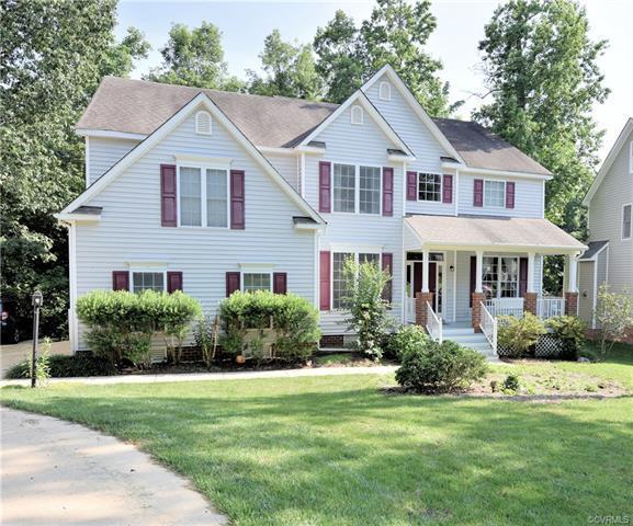 8212 Hampton Glen Drive, Chesterfield, VA 23832 (MLS #1815420) :: Explore Realty Group