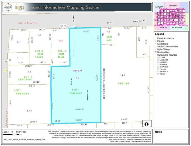 1919 Schofield Avenue, Weston, WI 54476 (MLS #22001515) :: EXIT Midstate Realty