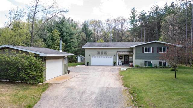 7810 W Evergreen Drive, Waupaca, WI 54981 (MLS #22102223) :: EXIT Midstate Realty