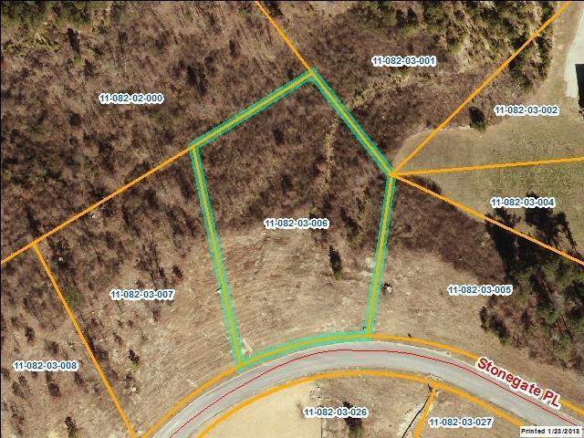 lot 6 Stonegate Place, Cohutta, GA 30755 (MLS #114439) :: The Mark Hite Team