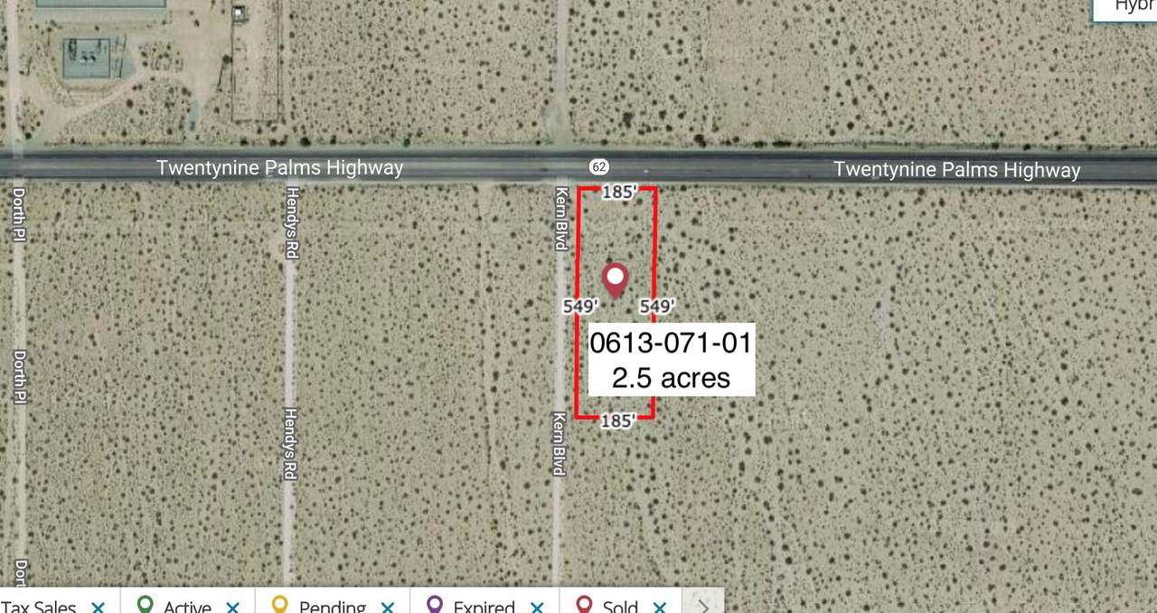 2.5 Acres On Hwy 62 Near Kern Boulevard - Photo 1