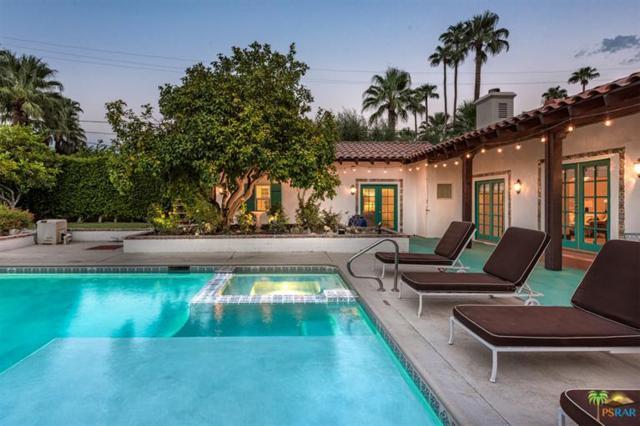 610 N Via Monte Vista Vista, Palm Springs, CA 92262 (MLS #17266528PS) :: Brad Schmett Real Estate Group