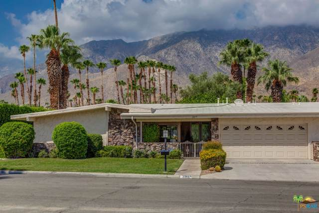 2219 S Madrona Drive, Palm Springs, CA 92264 (MLS #19493440) :: The John Jay Group - Bennion Deville Homes