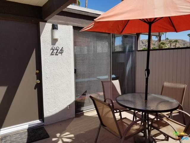 1111 E Palm Canyon Drive #224, Palm Springs, CA 92264 (MLS #19499094) :: The John Jay Group - Bennion Deville Homes