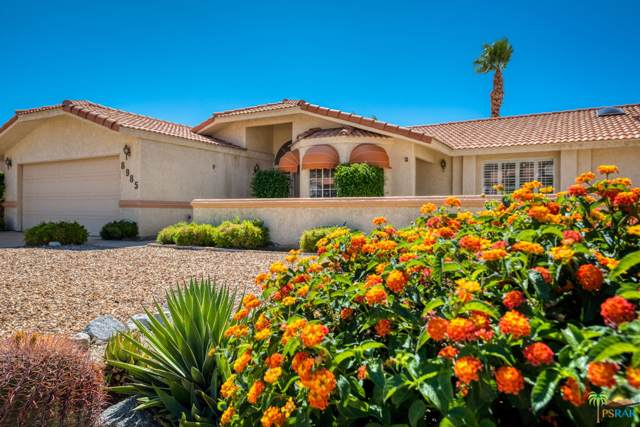 8985 Warwick Drive, Desert Hot Springs, CA 92240 (MLS #19509624) :: The John Jay Group - Bennion Deville Homes