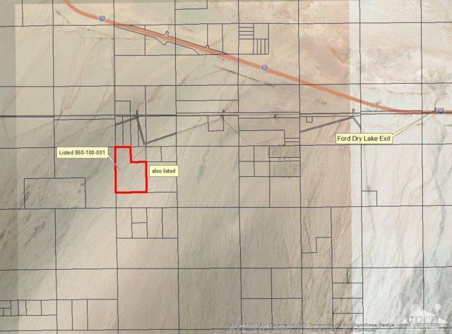 0 199.54 Acres Ford Dry Lake, Desert Center, CA 92239 (MLS #216016024) :: Deirdre Coit and Associates
