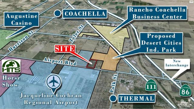 86600 Airport Blvd, 19.5 Ac E Tyler Boulevard, Thermal, CA 92274 (MLS #217014098) :: Hacienda Group Inc