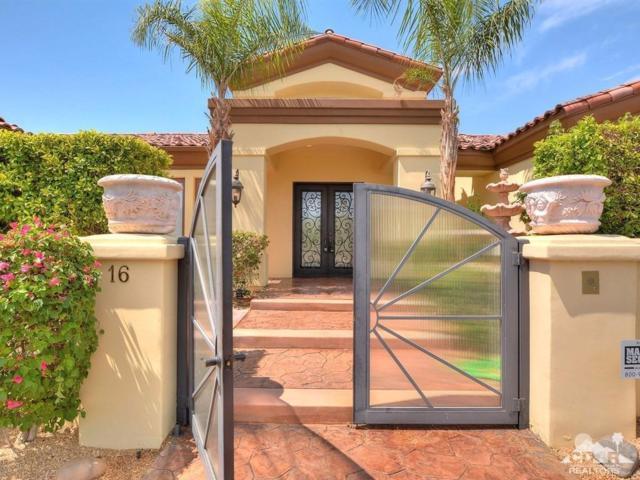 16 Villaggio Place, Rancho Mirage, CA 92270 (MLS #217018710) :: Brad Schmett Real Estate Group