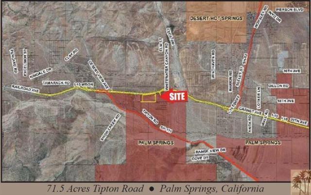 0 71 Ac Tipton Rd., Palm Springs, CA 92282 (MLS #217021026) :: The John Jay Group - Bennion Deville Homes