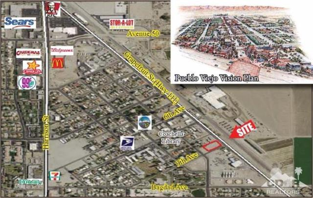 0 .90 Ac Swc Hwy 111 & 9th St, Coachella, CA 92236 (MLS #217021028) :: Team Michael Keller Williams Realty