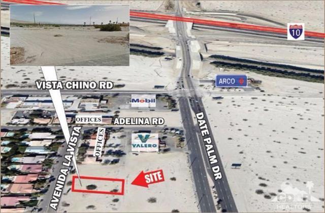 0 .40 Ac Avenida La Vista, Cathedral City, CA 92234 (MLS #217031674) :: Brad Schmett Real Estate Group