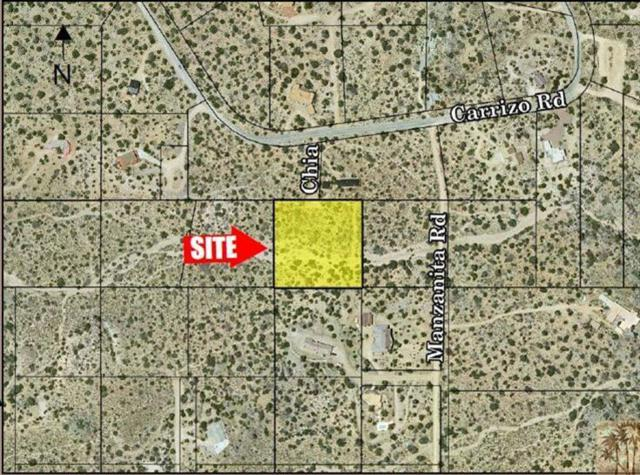 0 2.5 Ac Lot 10 Chia Ln, Mountain Center, CA 92561 (MLS #217031682) :: The John Jay Group - Bennion Deville Homes