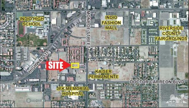 0 .89 Ac Monroe & Dr. Carreon, Indio, CA 92201 (MLS #218003834) :: The John Jay Group - Bennion Deville Homes