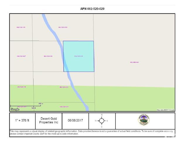 10 Ac Water Way, Niland Area, Salton Sea, CA 92257 (MLS #218008586) :: The John Jay Group - Bennion Deville Homes