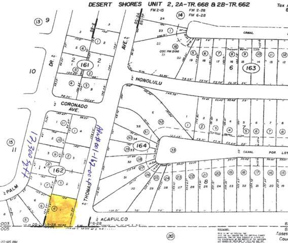 3705 Thomas Avenue, Desert Shores, CA 92274 (MLS #218010818) :: The John Jay Group - Bennion Deville Homes