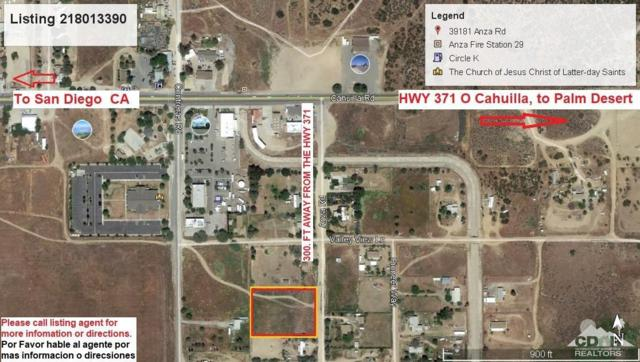 39181 Anza Road, Anza, CA 92539 (MLS #218013390) :: Hacienda Group Inc